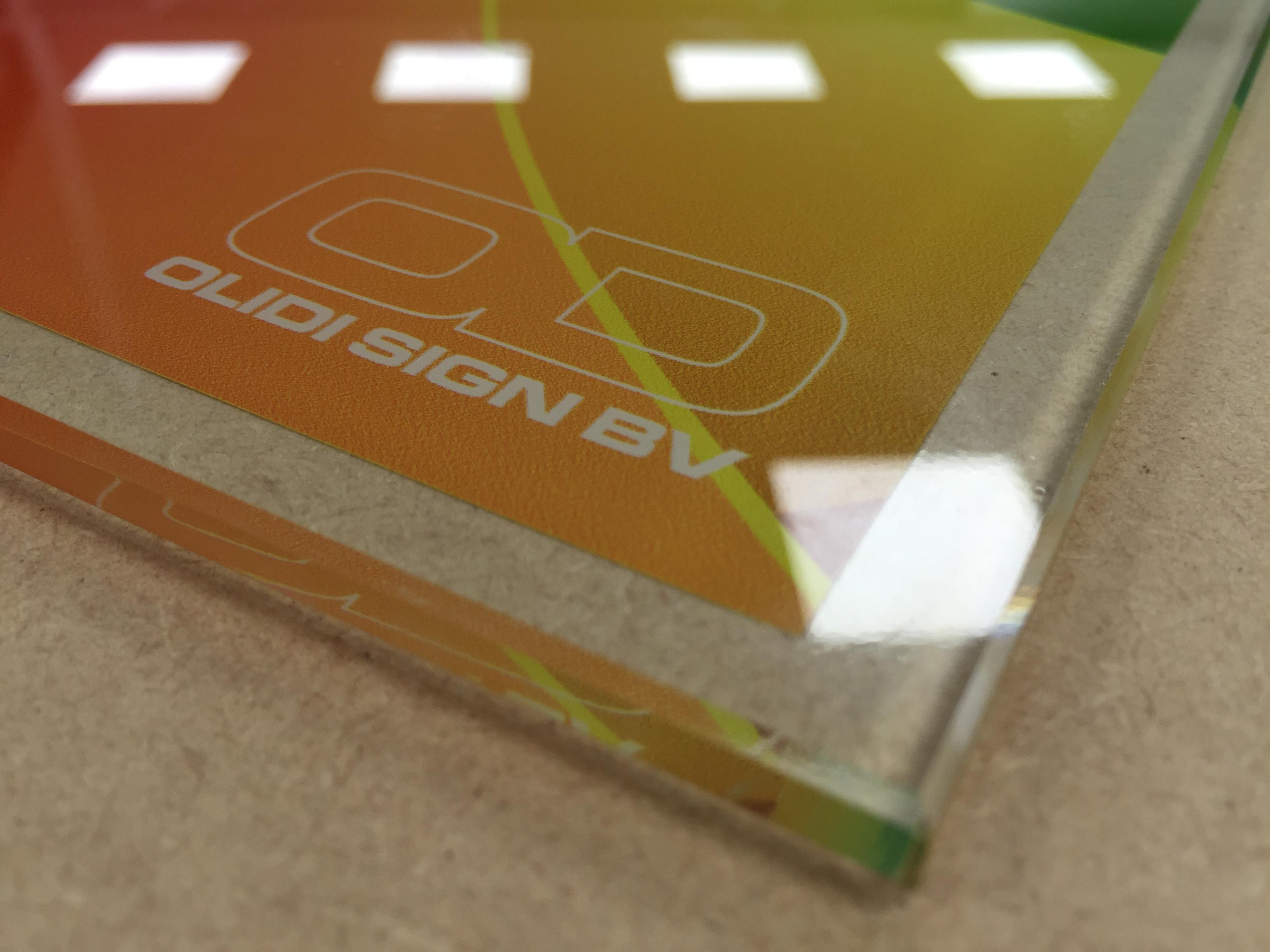 Print op Glas