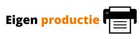 100% eigen productie